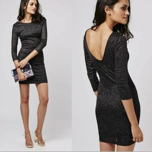 classic style size 40 shopping Topshop Dresses | Black Sparkle Dress | Poshmark